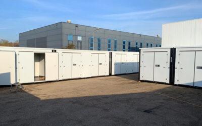 Fertigstellung der Storage Park Opslagbox Zutphen