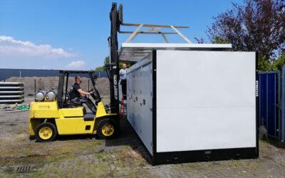 Auch geliefert: Lagerpark in Lelystad